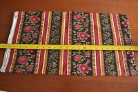By 1/2 Yd, Red Green Black Quilting Border, Timeless Treas/REGAL-CM6168, M9025