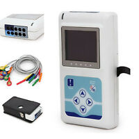 Color Digital Holter ECG/EKG Machine Holter Recorder 3-channels Contec FDA