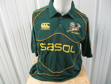 Vintage Canterbury South Africa National Rugby Team Springboks Sewn Xl Jersey