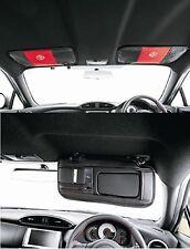 Visor Cover Red/Black TOYOTA 86 SCION FR-S SUBARU GT Japan's After Market Item
