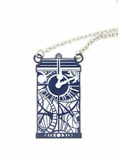 Doctor Who Gallifreyan Clock Tardis Necklace new with tags licensed