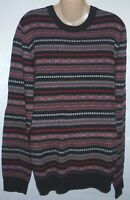 Mens AEROPOSTALE Fair Isle Crew Neck Crewneck Sweater NWT #4815