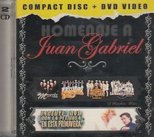Montez De Durango Liberacion Homenaje a Juan Gabriel CD+DVD New Sealed