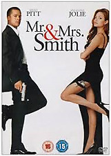 MR. MRS. SMITH – DVD, REGION-2, NEW, FREE PSOT IN AUSTRALIA