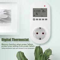 HY02TPR Wireless Digital Thermostat Steckdose Raumthermostat Temperaturregler