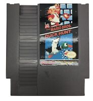 Super Mario Bros / Duck Hunt - Authentic Nintendo NES Game