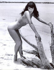 Bettie Betty Nude Black And White 8x10 Photo Picture Celebrity Print