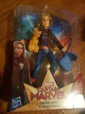 NEW Captain Marvel Super Hero Doll & Marvel's Goose the Cat