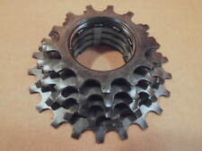 New-Old-Stock Shimano (Mostly) UniGlide Cassette...5-speed/13x22 (Black Finish)
