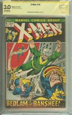 X-Men #76 CBCS (not CGC) 3.0 Signed Roy Thomas