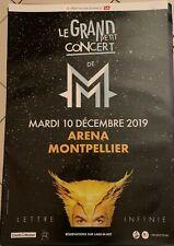 M - Mathieu CHEDID - AFFICHE 70x100cm - Le Grand Petit Concert - envoi en tube