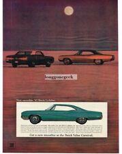 1967 Buick Le Sabre 2-door Hardtop Automobile Car Vtg Print Ad