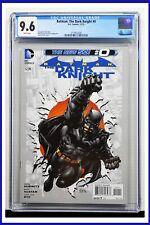 Batman The Dark Knight #0 CGC Graded 9.6 DC November 2012 White Pages Comic Book