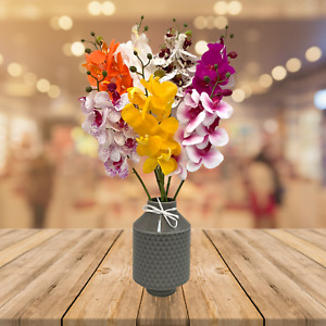 Silk Artificial Orchid Flower Stem Many Colours Quality Flowers Wedding Décor