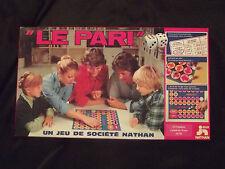 ancien jeu de société éducatif Nathan, jeu vintage le Pari, jeu le pari de 1978