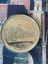 Moneta Fdc 500 Lire  Italia 1991 Argento  - Ponte Milvio  Gr. 11 -  %835