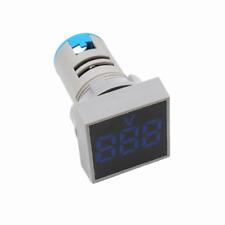 Panel Mount Square Display Digital Voltmeter AC 20 ~ 500v LED Display Blue
