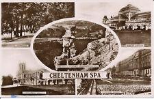 PC01080 Cheltenham Spa. Multi view. 1949. RP