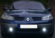 2x H11 BULBS FOG LED COB WHITE 6000K CANBUS FOR RENAULT MEGANE MK2 2003-2010