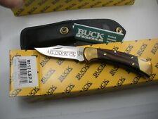 BUCK 112 RANGER KNIFE NEVER USED IN BOX LAST PRODUCTION EL CAJON
