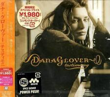 Dana Glover - Testimony - Japan CD+1BONUS+VIDEO - NEW