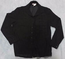 Womens/Ladies Supre Size L/14 Black Chiffon Shirt/Blouse BNWOT - ONE ONLY