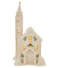 Lenox Holiday Village Lighted Church