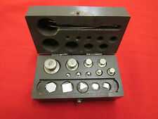 Russian Soviet Vintage Apothecary Pharmacy Balance Scale Weight Set.