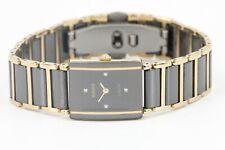 RADO Diastar Quartz Uhr Ref 153.0383.3 Keramik 18mm Damen Armband Uhr