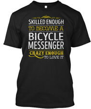Bicycle Messenger Love It Hanes Tagless Tee T-Shirt