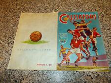 ALBUM CALCIATORI 1958 1959 LAMPO COMPLETO(-5 FIGURINE) ORIG. MB/OTT TIPO PANINI