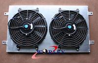 For HQ HJ HX HZ 253 & 308 V8 Holden engine Aluminum Radiator Shroud +Thermo Fan