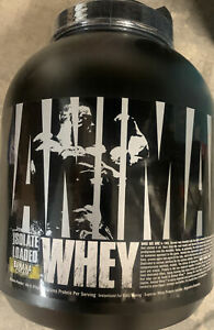 Universal Nutrition Animal Whey Isolate Loaded Protein Powder-54 Servings,Banana