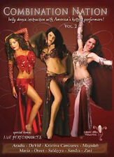 Learn How to Belly Dance-COMBINATIONs NATION VOL. 2 DVD
