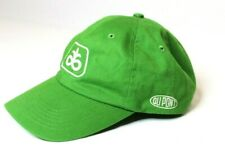 Pioneer Seed Dupont Embroidered Strapback Baseball Cap Hat Green Farm Implement