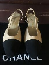 Authentic CHANEL slingback/shoes