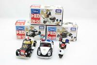 Tomica Takara Tomy Disney Motors DM-04,12,09 Mickey Mouse Police Cars Set Japan