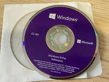 Microsoft Windows 10 Pro 64 Bit DVD Professional Multilingual Neu no KEY