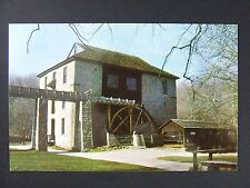 Mitchell Indiana IN Spring Mill State Park Hamers Stone Grist Postcard 1950s