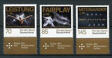Germany 2017 MNH Sporthilfe Sport Aid 50th Anniv 3v Set Sports Stamps