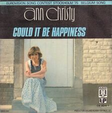 "ANN CHRISTY ‎– Could It Be Happiness (1975 EUROVISION VINYL SINGLE 7"" AUSTRIA)"