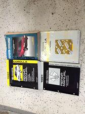 1991 Toyota COROLLA Service Repair Shop Manual Set W EWD Transaxle + Chilton's