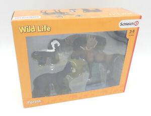 Schleich 41456 - Elch Bär Skunk Waldbewohner - Forest Wild Life - NEU / OVP New