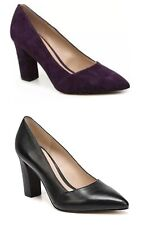 Women Franco Sarto Abree Pointed Toe Leather Pump