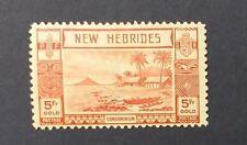 NEW HEBRIDES 1938 5f  SG 62 Sc 60 MH
