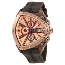Lamborghini Spyder Rose Gold Dial Mens Chronograph Watch 9008