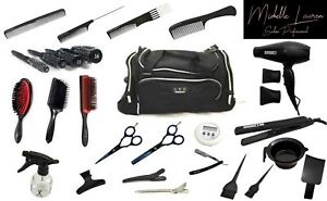Hairdressing Kit NVQ Level 1,2&3  Student Kit  (49) Items included Trolly Bag