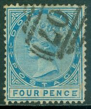 DOMINICA : 1879. Stanley Gibbons #7a Malformed 'CE' in pence. VF, Used. Cat £130