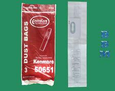 3 Old Type L Bags Kenmore Sears 50651 50655 Whirlpool U1 744595 4151467 Vacuums