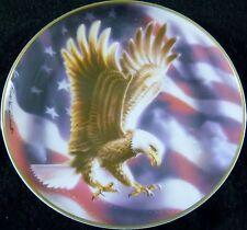 The American Eagle Collector Plate Ronald Van Ruyikwett Franklin Mint